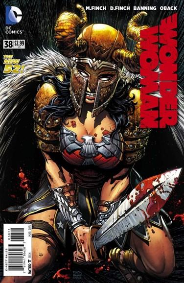 Wonder Woman Cover - 3/1/2015
