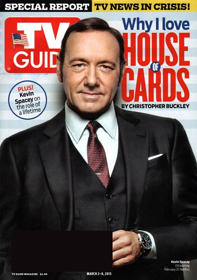 TV Guide Cover - 3/2/2015