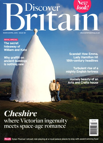 Discover Britain Cover - 3/1/2015