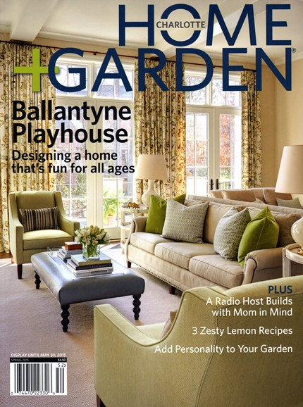 Charlotte Home & Garden Cover - 3/1/2015