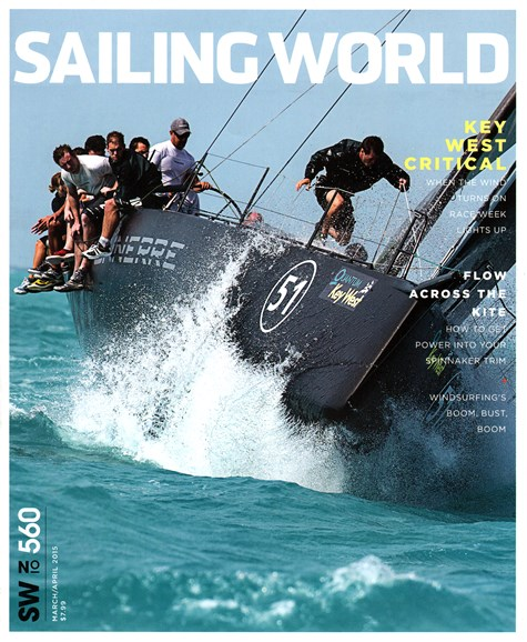 Sailing World Cover - 3/1/2015