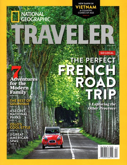 National Geographic Traveler Cover - 4/1/2015