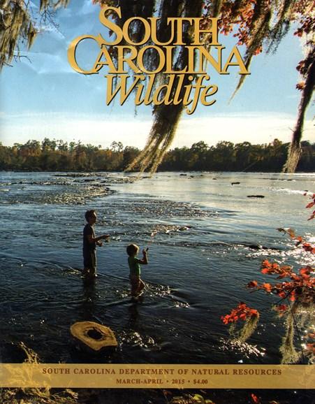 South Carolina Wildlife Cover - 3/1/2015