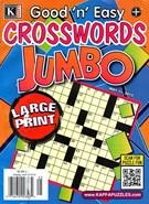 Good N Easy Crosswords Jumbo Magazine 5/11/2015