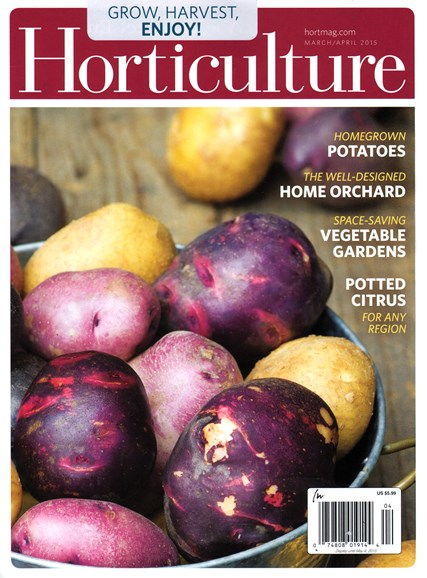 Horticulture Cover - 3/1/2015