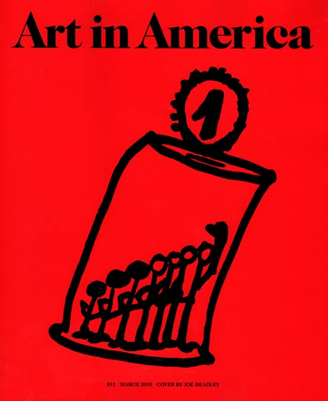 Art In America Cover - 3/1/2015
