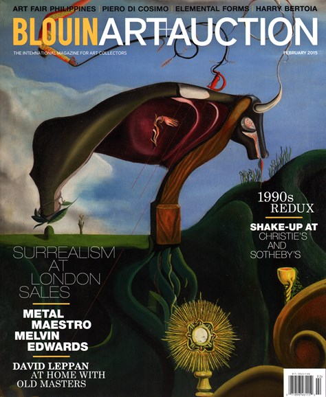 Blouin Art & Auction Cover - 2/1/2015