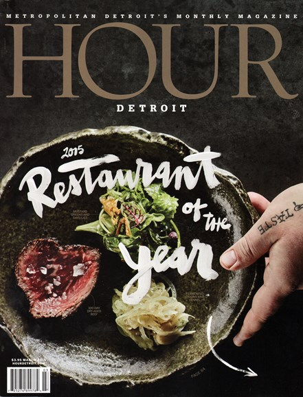 Hour Detroit Cover - 3/1/2015