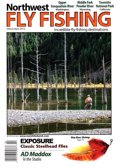 Northwest Fly Fishing Cover - 3/1/2015