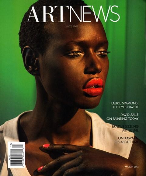 ARTnews Cover - 3/1/2015