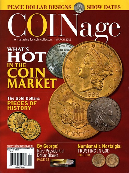 Coinage Cover - 3/1/2015