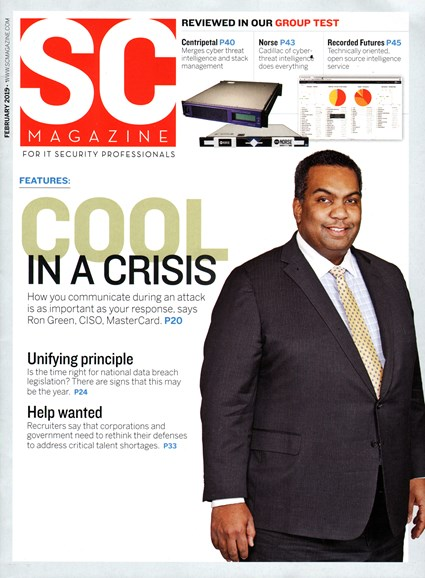 SC Magazine - U.S. edition Cover - 2/1/2015