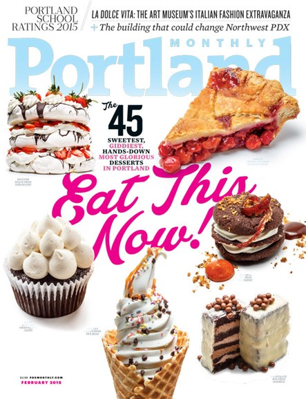 Portland Monthly Cover - 2/1/2015