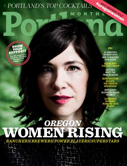 Portland Monthly Cover - 3/1/2015