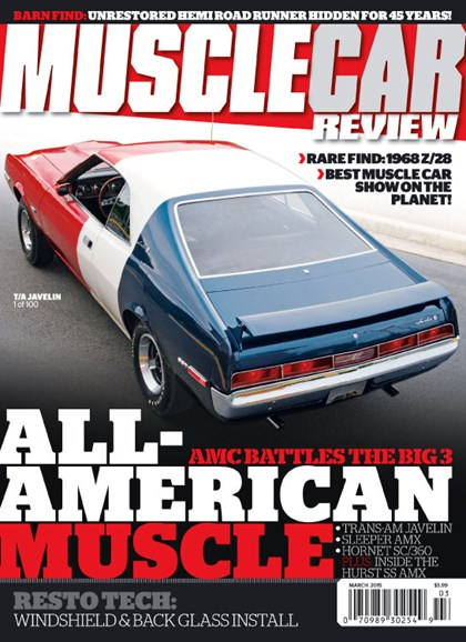 Muscle Car Review Cover - 3/1/2015