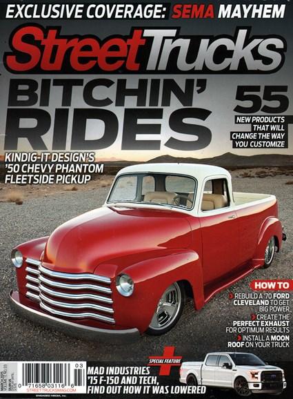 Street Trucks Cover - 3/1/2015
