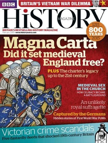 BBC History Cover - 2/1/2015