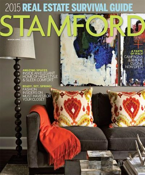 Stamford Magazine Cover - 3/1/2015