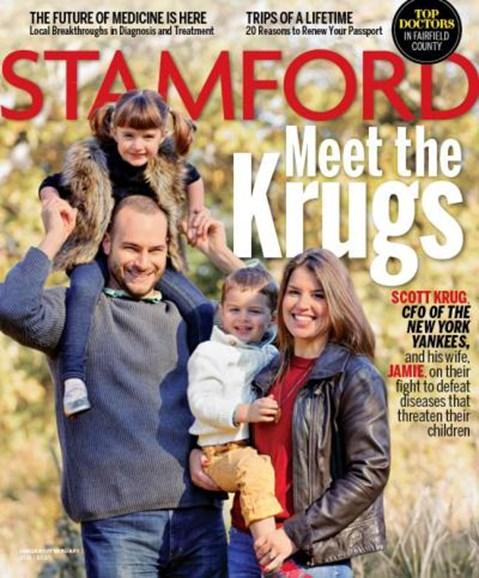 Stamford Magazine Cover - 1/1/2015