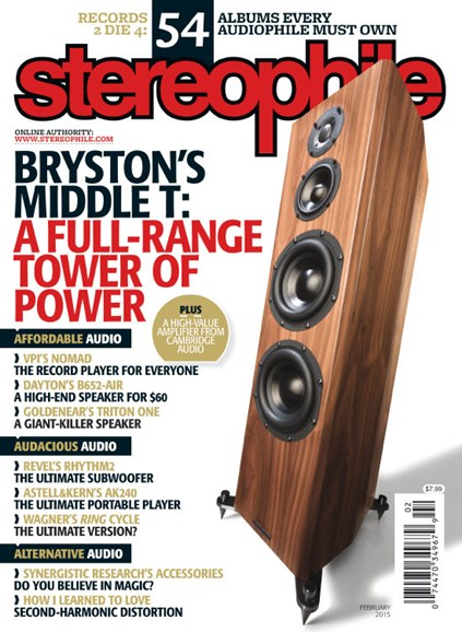 Stereophile Cover - 2/1/2015