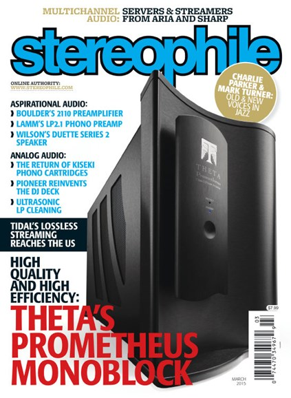 Stereophile Cover - 3/1/2015