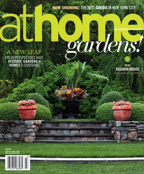 At Home in Fairfield County Cover - 3/1/2015