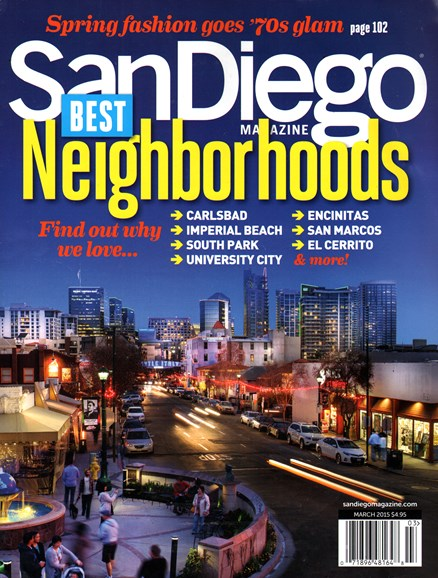 San Diego Cover - 3/1/2015