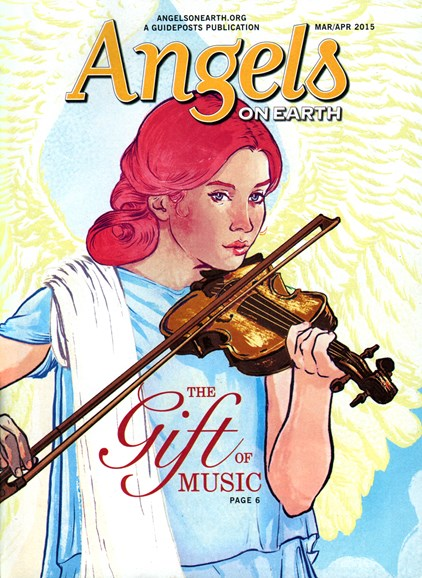 Angels on Earth Cover - 3/1/2015