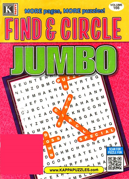 Find & Circle Jumbo Cover - 4/1/2015