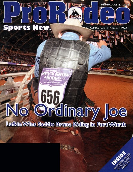 Pro Rodeo Sports News Cover - 2/27/2015