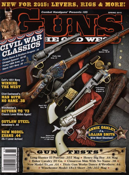 Guns Of The Old West Cover - 3/1/2015