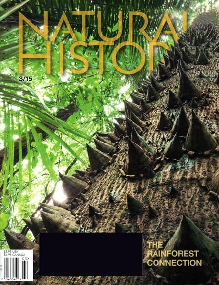 Natural History Cover - 3/1/2015