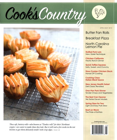 Cook's Country Cover - 4/1/2015