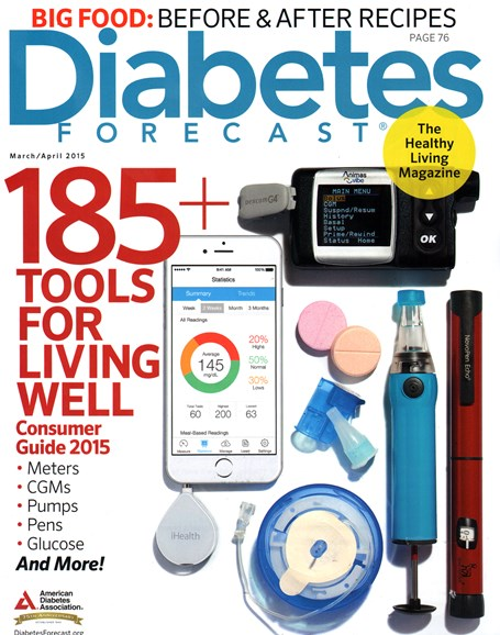 Diabetes Forecast Cover - 3/1/2015