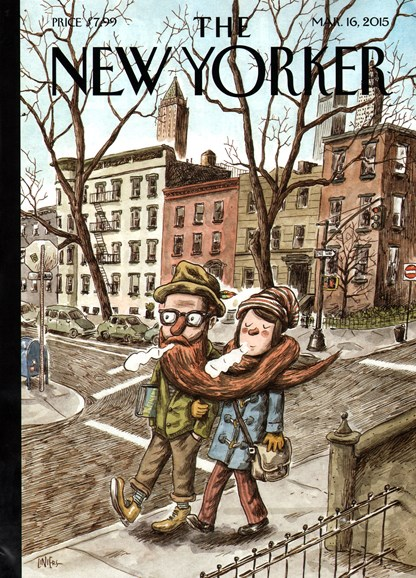 The New Yorker Cover - 3/16/2015