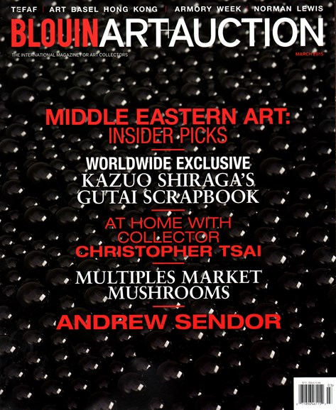 Blouin Art & Auction Cover - 3/1/2015