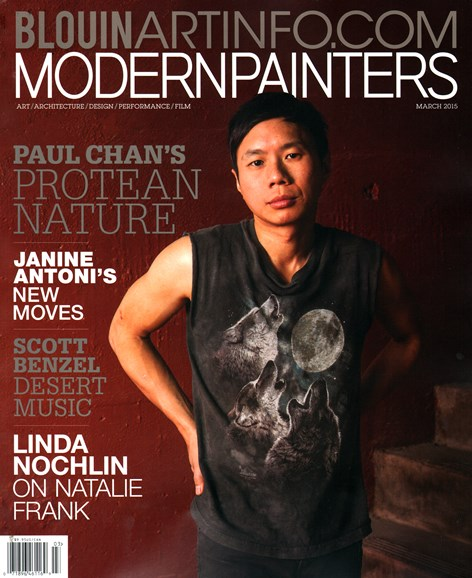 Blouin Modern Painters Cover - 3/1/2015