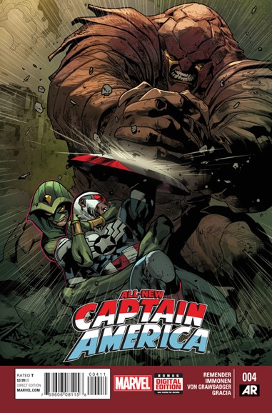 Captain America Cover - 4/1/2015