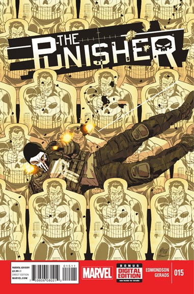 The Punisher Cover - 4/1/2015