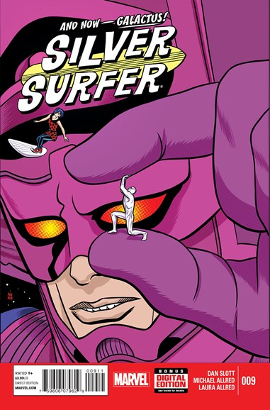 Silver Surfer Cover - 4/1/2015