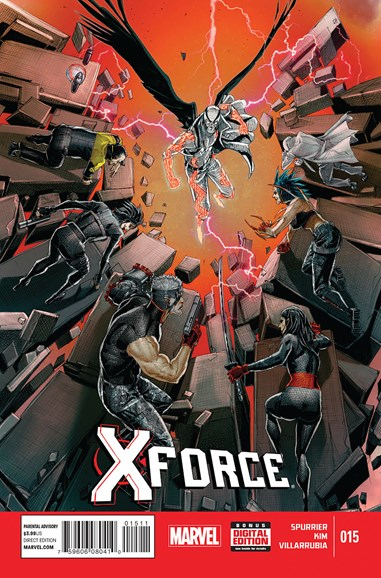 X-Force Cover - 4/1/2015