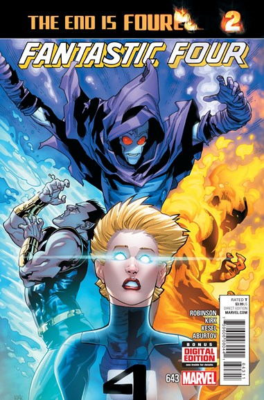 Fantastic Four Cover - 4/1/2015