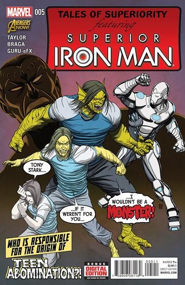 Tony Stark: Iron Man Cover - 4/1/2015