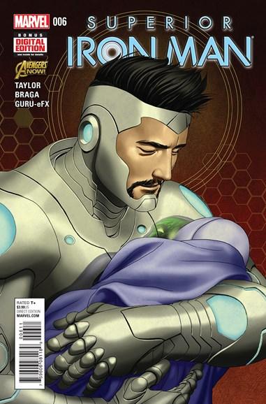 Tony Stark: Iron Man Cover - 5/1/2015