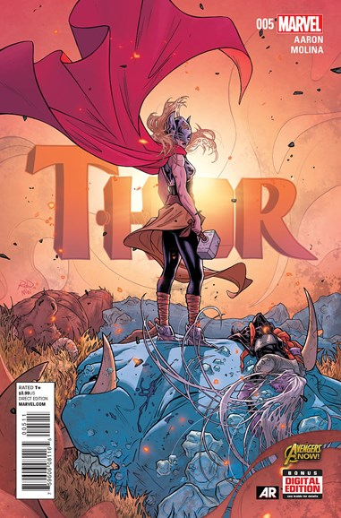 Thor Cover - 4/1/2015