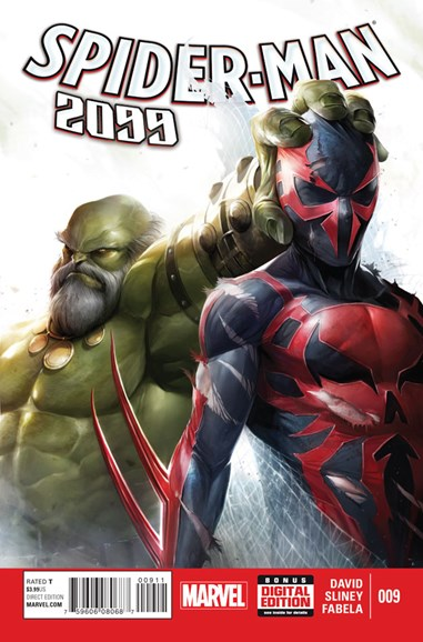 Spider-Man 2099 Cover - 4/1/2015
