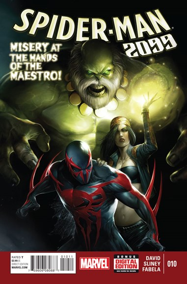 Spider-Man 2099 Cover - 5/1/2015