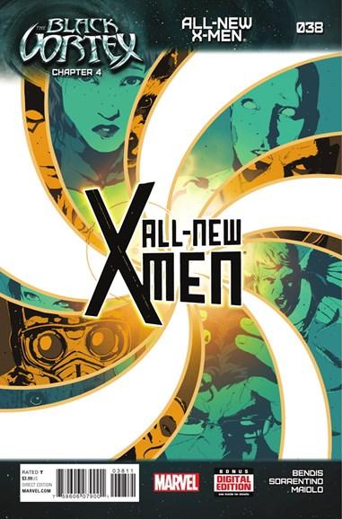 X-Men Blue Cover - 4/15/2015
