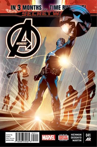 Avengers Cover - 4/1/2015