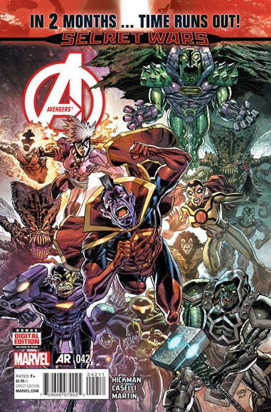 Avengers Cover - 5/1/2015